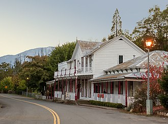National Register of Historic Places listings in Shasta County, California - Image: French Gulch Historic District