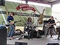 French Market Lundi Gras Morning New Orleans Charles Brewer Trio 3.jpg