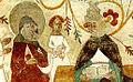 Fresque de Johannes Rosenrod Brigitte de Suède et Urbain V 1437.jpg