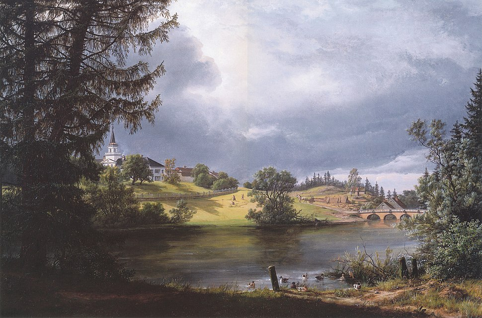 Frogner Manor by I. C. Dahl for Benjamin Wegner