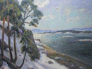 Thorolf Holmboe - Frognerkilen Bay