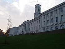 Front of Trent Building, Nottingham University.JPG