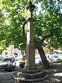 Frymburk, náměstí, pranýř.jpg