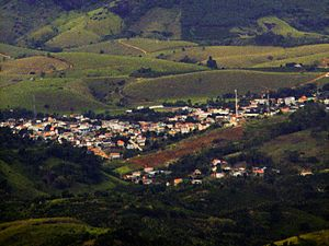 Fundão, Espírito Santo - View of Fundão from peak of Goiapaba-Açu
