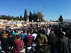 Hypercacher Kosher Supermarket siege - Funeral in Jerusalem, Israel for the four Jewish murder victims