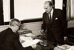Gösta Bohman and Ove Sommelius, late 1960s.jpg