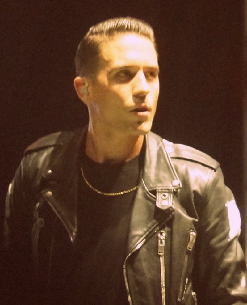 G-Eazy performs at the Lollapalooza Music Festival in 2015
