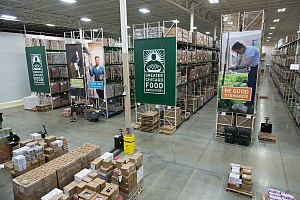 Greater Chicago Food Depository - One of the Greater Chicago Food Depository's warehouses, which is located at 4100 W Ann Laurie PL in Chicago, IL.