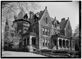 GENERAL VIEW OF FRONT - Horace Wilkinson House, 703 Walnut Avenue, Syracuse, Onondaga County, NY HABS NY,34-SYRA,19-1.tif
