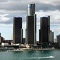 GM Renaissance Center - Hôtel le plus haut en Amérique du Nord - panoramio.jpg