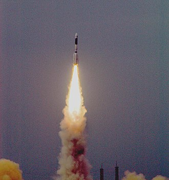 Geosynchronous Satellite Launch Vehicle - GSLV-F01 launched from the Satish Dhawan Space Centre, Sriharikota, to place EDUSAT -India's first communication satellite dedicated to educational purposes- in orbit on September 20, 2004