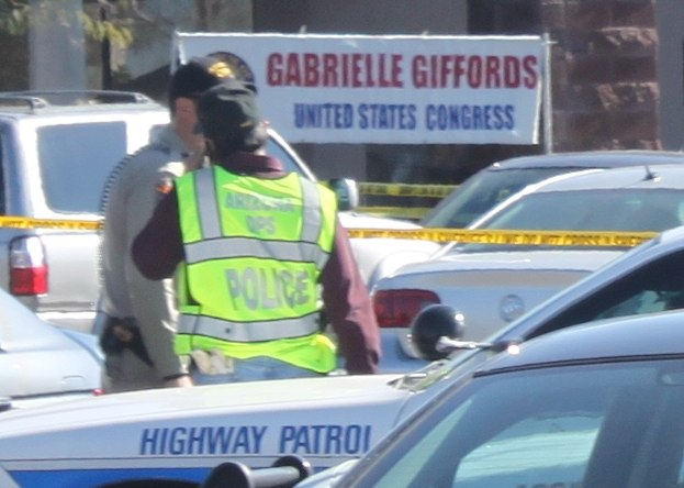 Gabrielle Giffords shooting scene B