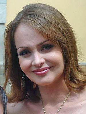 La usurpadora - Image: Gaby Spanic en Guanajuato, México (cropped)