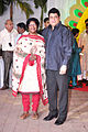 Gajendra Chauhan at Esha Deol's wedding at ISCKON temple 13.jpg