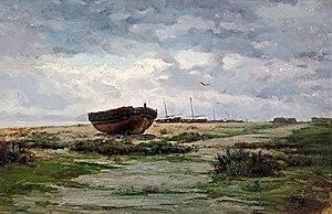 Enric Galwey - Image: Galwey Barques a la platja