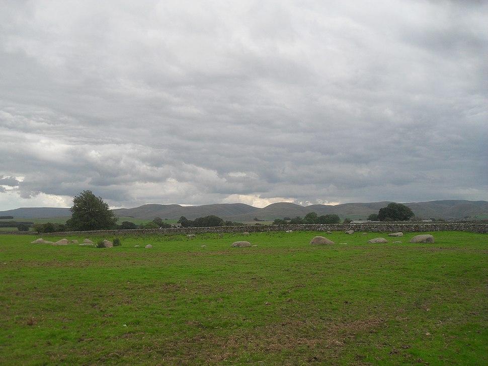 Gamelands stone circle 1