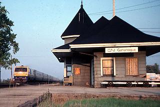 Gananoque station