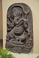 Ganesha - Black Stone - Circa 11th Century CE - Giriyak - Bihar - ACCN 3921 - Indian Museum - Kolkata 2015-09-26 3911.JPG