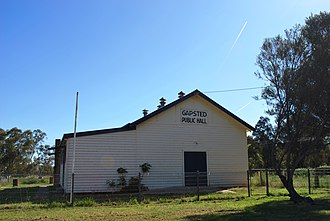 Gapsted - Public hall at Gapsted, 2009