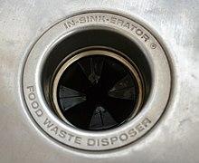 Garbage disposal unit - Wikipedia