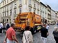 Garbage truck, Szewska Street, Kraków, 2019.jpg