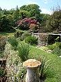 Garden terrace at Coleton Fishacre - geograph.org.uk - 811124.jpg