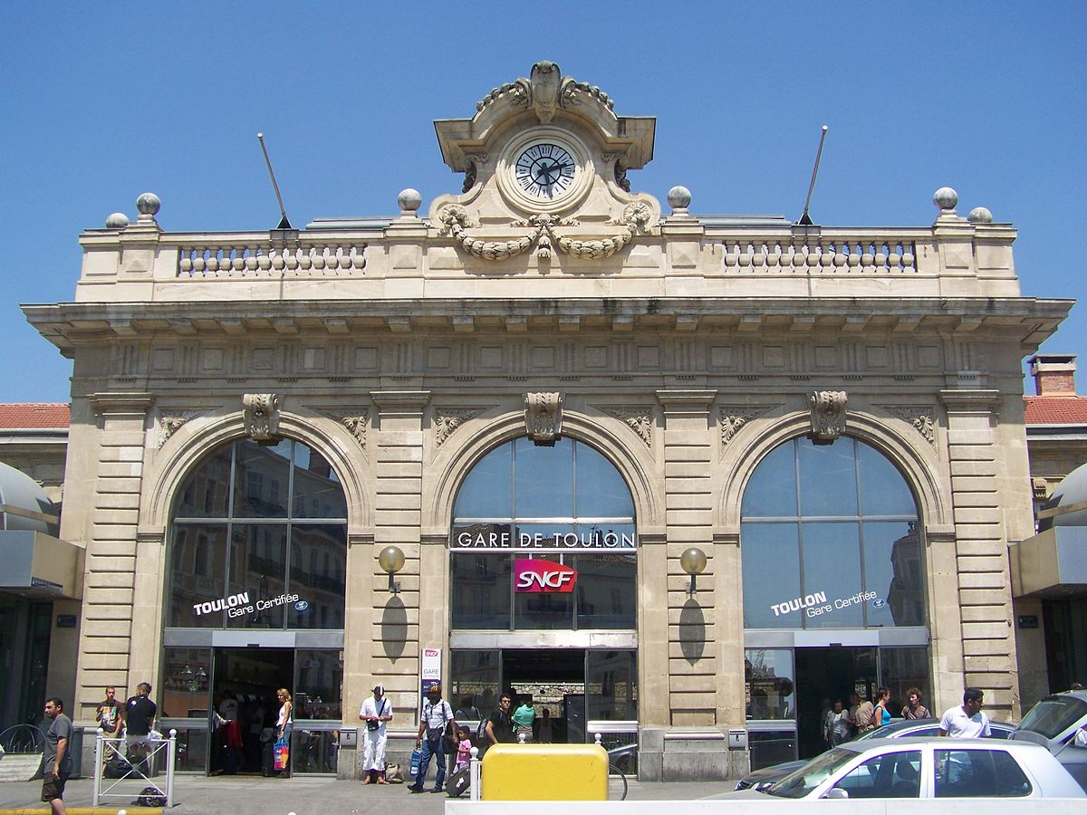 gare de toulon wikipedia. Black Bedroom Furniture Sets. Home Design Ideas