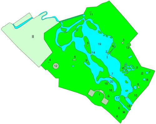I — Дворцовый парк