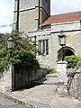 Gates, St Mary's Church, Iwerne Minster - geograph.org.uk - 908111.jpg