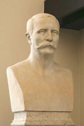 Gaudensi Allar - Bust sculpted by his brother André-Joseph Allar
