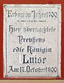 Gedenktafel Schlossfreiheit (Tangermünde) Luise von Mecklenburg-Strelitz.jpg
