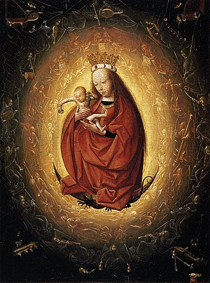 Museum Boijmans Van Beuningen - Image: Geertgen tot Sint Jans Virgin and Child WGA08518