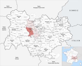 Loire Forez Agglomération Communauté dagglomération in Auvergne-Rhône-Alpes, France