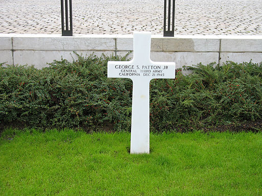 General Patton's grave 300806
