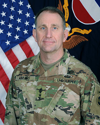Commanding General, United States Army Forces Command - Image: General Robert B. Abrams in OCP
