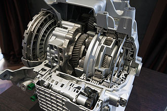 Land Rover Discovery Sport - ZF 9-HP48 sectioned gearbox