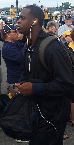 Geno Smith during his college career at West Virginia Geno Smith.jpg