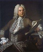 Auch heute deutlich bekanntere Komponisten wie Georg Friedrich Händel wurden von Lullys Musik geprägt. (Quelle: Wikimedia)