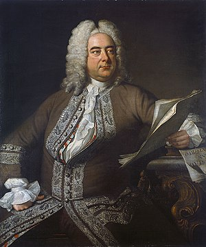 Thomas Hudson (painter) - George Frideric Handel painted in 1749 by Thomas Hudson