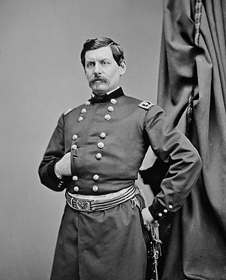 Western Virginia Campaign - George B. McClellan, Union commander in western Virginia from May to June 1861