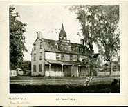 George Bradford Brainerd. Academy, East Hampton, Long Island, ca. 1872-1887