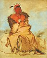 George Catlin - Loo-rá-wée-re-coo, Bird that Goes to War, a Tapage Pawnee - 1985.66.103 - Smithsonian American Art Museum.jpg
