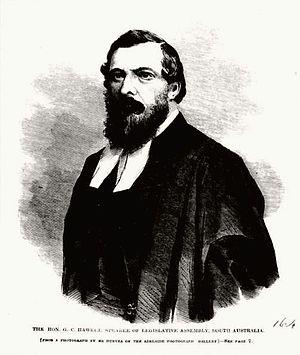 George Charles Hawker - George Charles Hawker, 1865