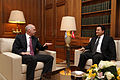 George Papandreou and Ali Babacan2.jpg
