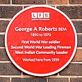 George Roberts Red Plaque.jpg