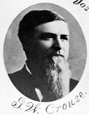 George W. Crouse - Image: George Washington Crouse