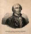 Georges Louis Leclerc, Comte de Buffon. Lithograph. Wellcome V0000889.jpg