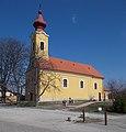 Georgskirche von Süden, 2019 Ászár.jpg