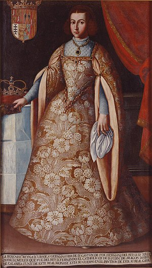 Germana, Reina consorte de Fernando V, Rey de España