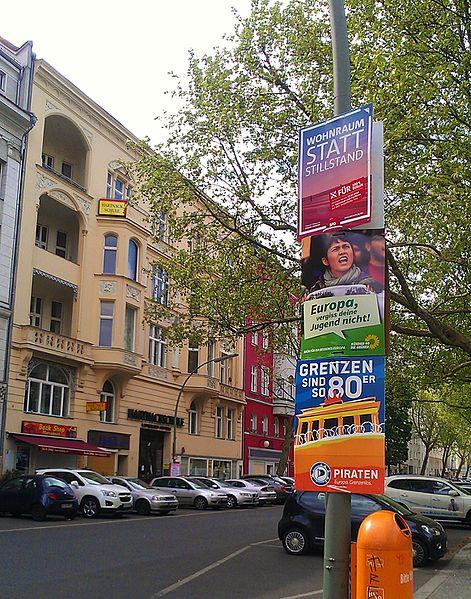 File:German political posters in Schöneberg.jpg